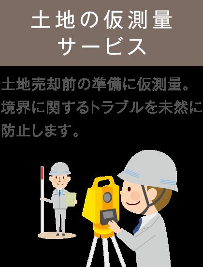土地現況測量サービス